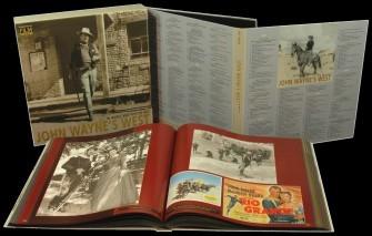 WAYNE, JOHN - In Music & Poster Art 10-CDs/1-DVD Box & Book