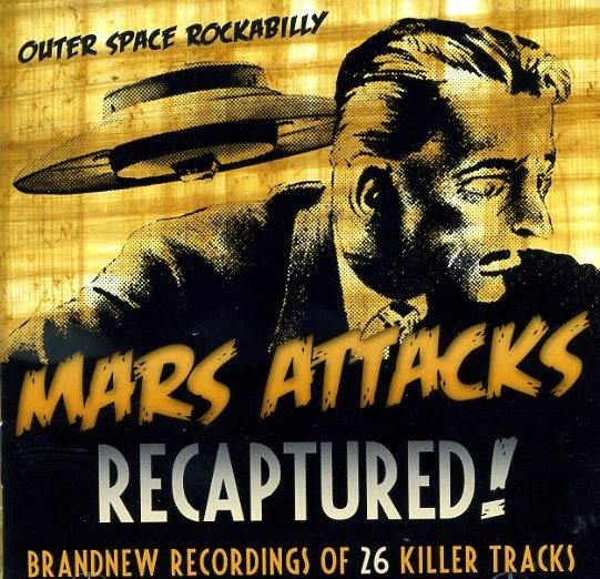MARS ATTACKS - Recaptured CD