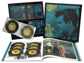 TWITTY, CONWAY - The Rock'n'Roll Years 8-CD-Box & 62-Page Book