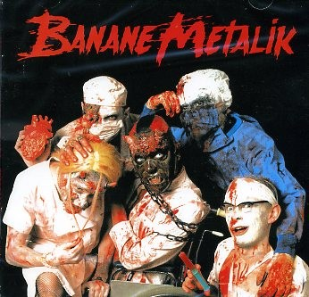 BANANE METALIK - Sex, Blood And Gore'n'Roll CD