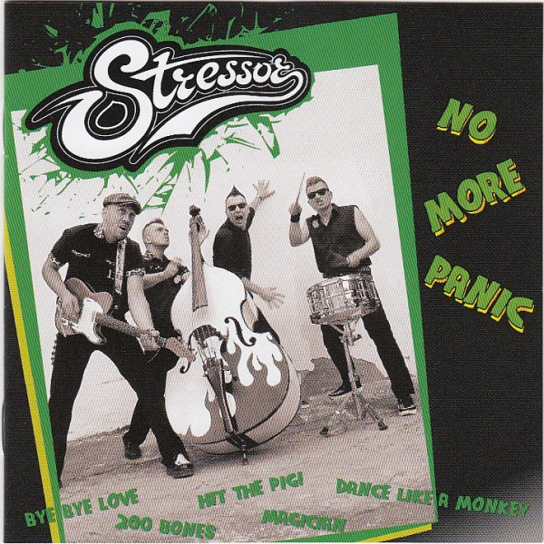 STRESSOR - No More Panic CD