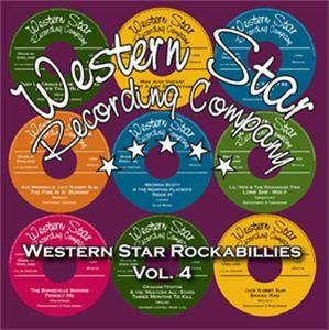 V.A. - Western Star Rockabillies Vol.4 CD