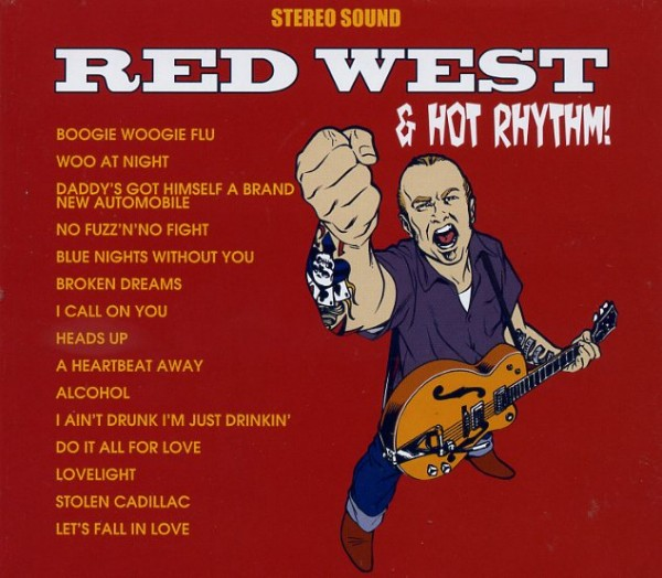 RED WEST& HOT RHYTHM - Same CD