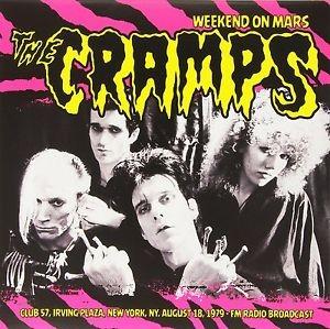CRAMPS - Weekend On Mars LP