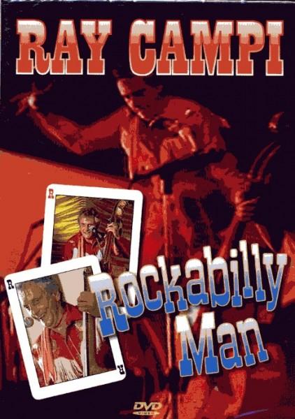 RAY CAMPI - Rockabilly Man DVD