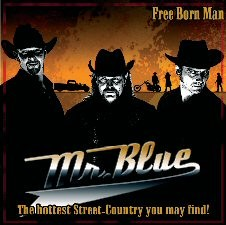 MR. BLUE-Free Born Man CD