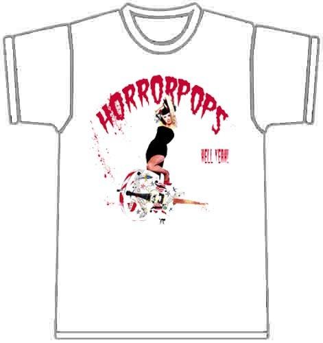 HORRORPOPS-Album T-SHIRT-M