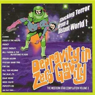 V.A.-Depravity In Zero Gravity CD