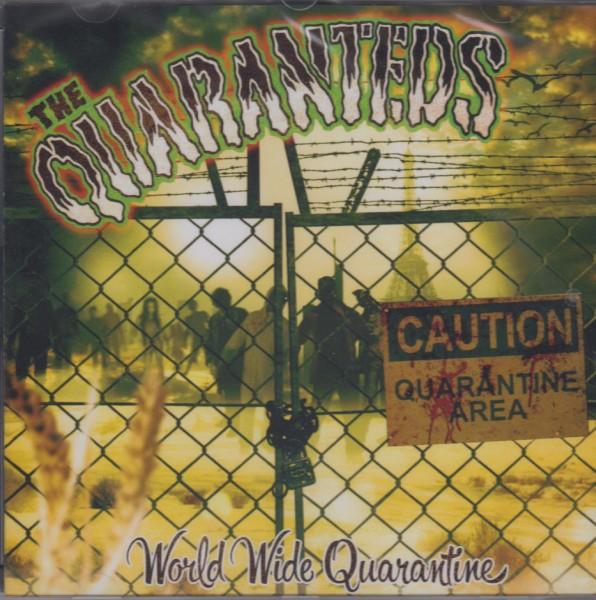 QUARANTEDS - World Wide Quarantine LP ltd. purple