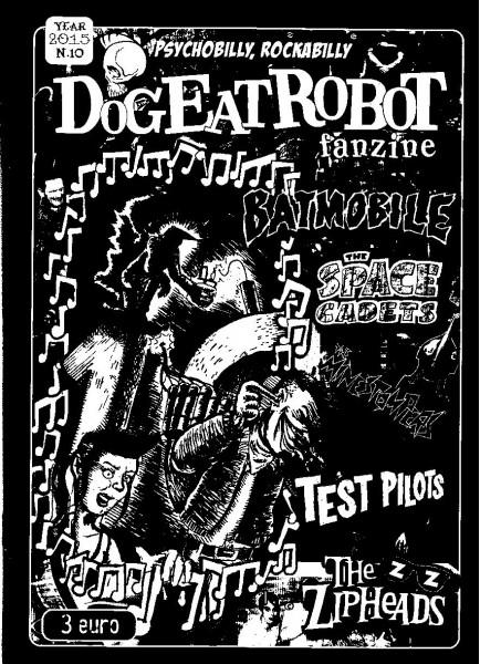 DOG EAT ROBOT Fanzine #10