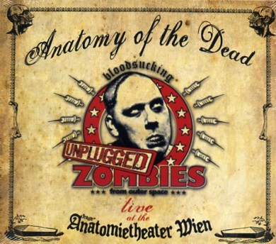 BLOODSUCKING ZOMBIES FROM OUTER SPACE - Anatomy Of The Dead CD