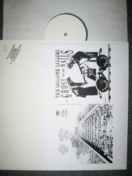 GODDAMN GALLOWS - Ghost Of Th' Rails LP test pressing