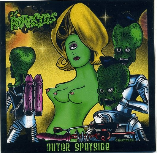"PARASITES - Outer Speyside 7""EP"