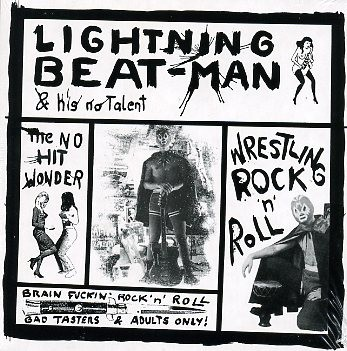 LIGHTNING BEAT-MAN - Wrestling Rock'n'Roll LP