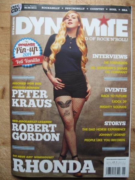 DYNAMITE MAGAZINE # 06-2014 + CD