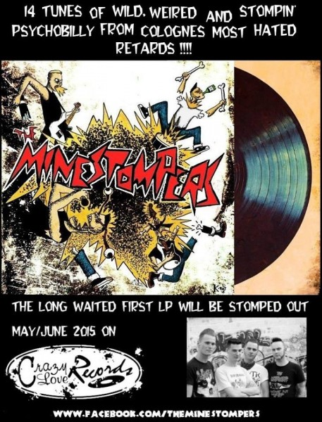 MINESTOMPERS - Minestompers LP