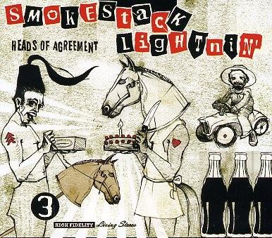 SMOKESTACK LIGHTNIN' - Heads Of Agreement LP