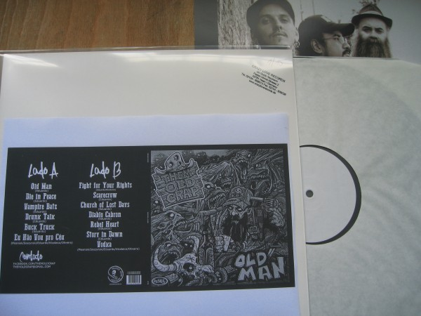THEM OLD CRAP - Old Man LP test pressing