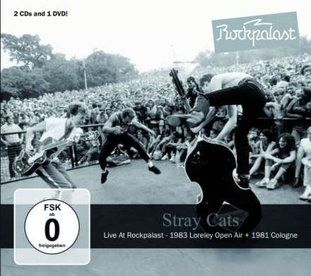 STRAY CATS - Live At Rockpalast DVD + 2xCD