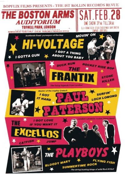V.A. - THE 1st ROLLIN RECORDS REVUE DVD