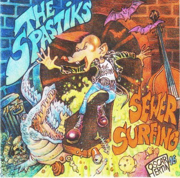 SPASTIKS - Sewer Surfing CD