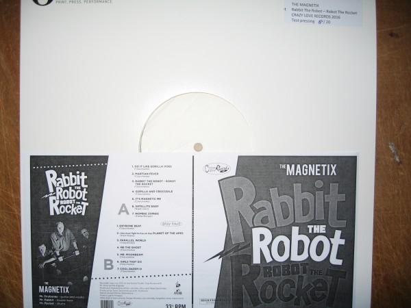 MAGNETIX - Rabbit The Robot...LP test pressing