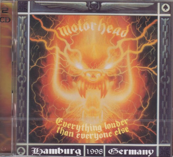 MOTÖRHEAD - Everything Louder Than Everyone Else 2CD