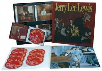 LEWIS, JERRY LEE - The Locust Years 8-CD Box + book!