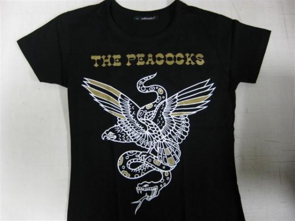 PEACOCKS - Fight Girlie T-Shirt S