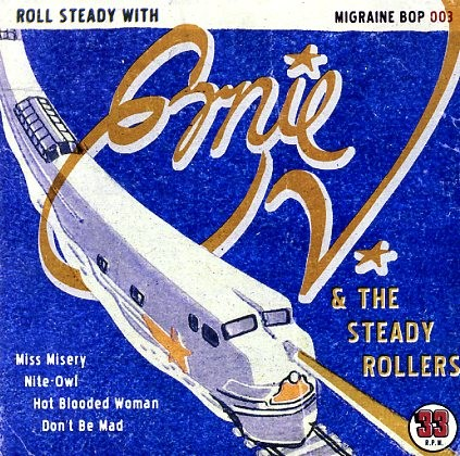 "ERNIE VARGAS & THE STEADY ROLLERS - Roll Steady With..7""EP"
