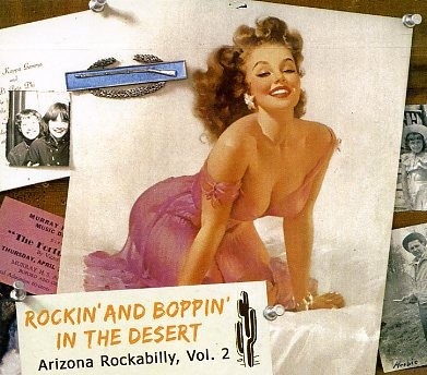 V.A. - Rockin' And Boppin' In The Desert Vol.2 CD