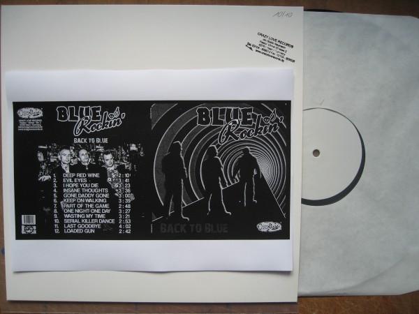BLUE ROCKIN' - Back To Blue LP TEST PRESSING