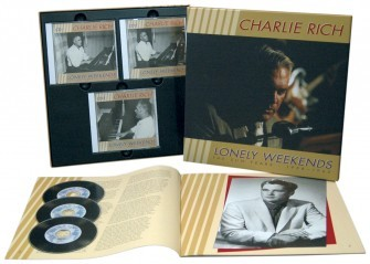 RICH, CHARLIE - The Sun Years, 1958-62 3-CD & 44-PAGE-BOOK