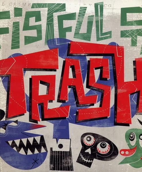 """V.A.-Fistful Of Trash 10""""LP"""