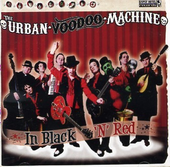 URBAN VOODOO MACHINE - In Black 'N' Red CD