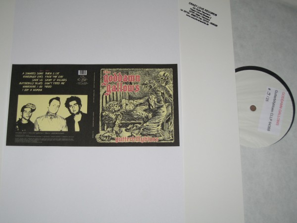 GODDAMN GALLOWS - Gutterbillyblues LP test pressing