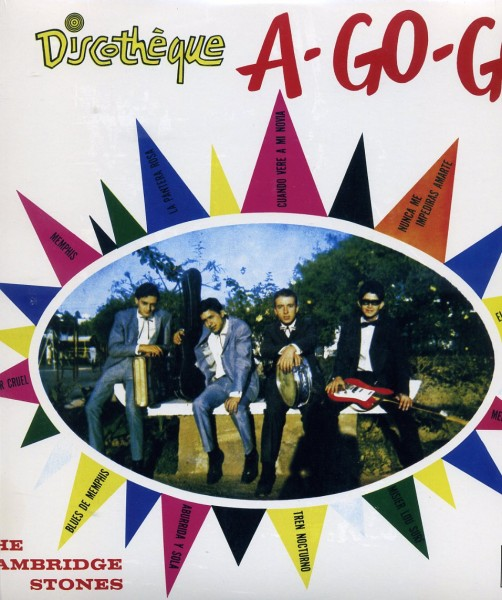 """CAMBRIDGE STONES - Discotheque A-Go-Go 10""""LP"""
