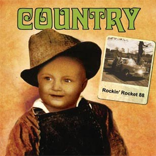 ROCKIN' ROCKET 88-Country CD