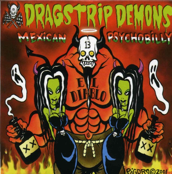 DRAGSTRIP DEMONS - Mexican Psychobilly CD