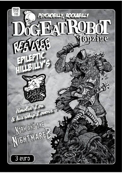 DOG EAT ROBOT #8 Fanzine