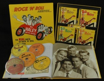 HALEY, BILL - The Real Birth ... 1946-1954 5-CD&100-Pg.BOOK