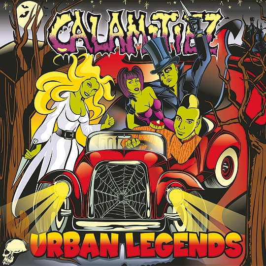 CALAMITIEZ - Urban Legends CD