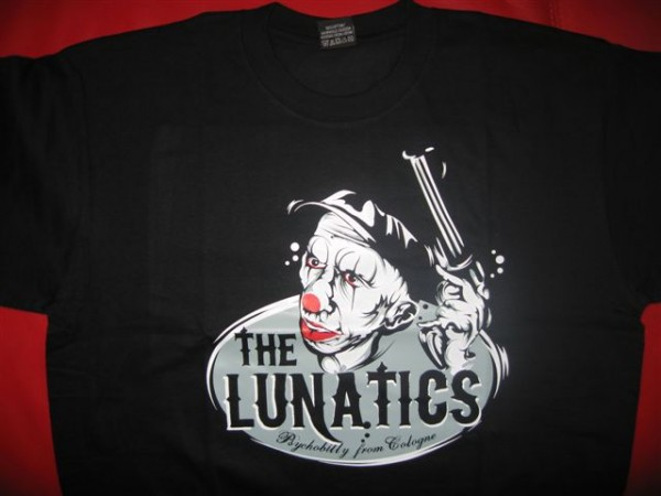 LUNATICS-Psychobilly From Cologne Shirt S