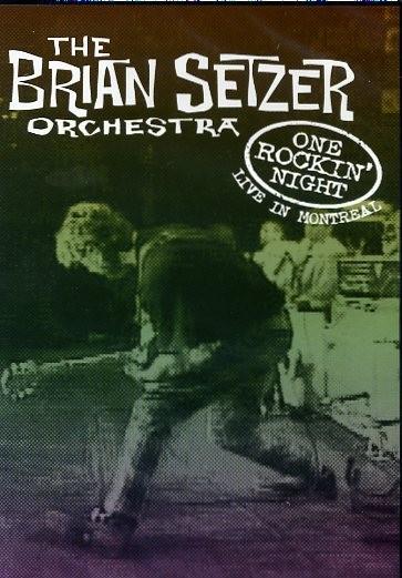 BRIAN SETZER ORCHESTRA - One Rockin' Night DVD
