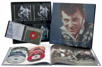 VINCENT, GENE - The Road Is Rocky 8-CD Box + book