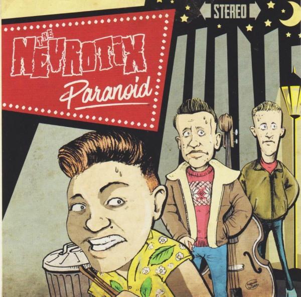 NEVROTIX - Paranoid CD