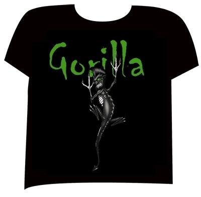 GORILLA-Bassmonster T-Shirt-XL