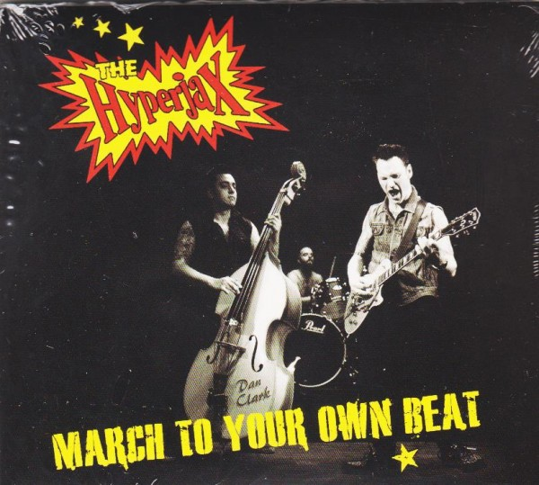 HYPERJAX - March To Your Own Beat CD