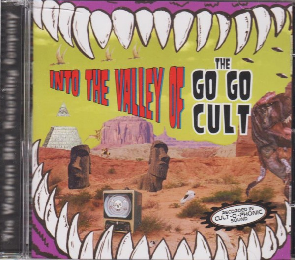 GO GO CULT - Into The Valley Of...CD