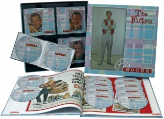 BOONE, PAT -The Fifties - Complete 12-CD Box + book